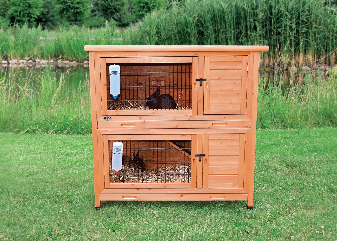 Клетка для кроликов пошагово
