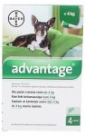 Bayer advantage dla psa 0,4 ml (do 4 kg)