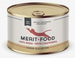 Merit Food CAT - Indyk z wątróbką - 410 g