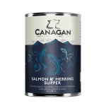 Canagan Mokra karma SALMON & HERRING SUPPER dla psa 400g