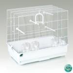 FOP Klatka dla ptaków biała Gabbia Janine