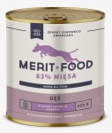 Merit Food DOG - Gęś z ryżem