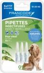 FRANCODEX Krople dla średnich psów przeciw insektom