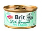 Brit Care Cat Fish Dreams Tuna & Salmon 80g
