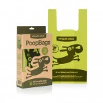 Lawendowe torby na psie odchody Poop Bags 34x18 cm - Earth Rated 120 szt.