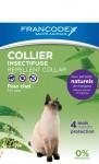 FRANCODEX Obroża przeciw insektom dla kotów