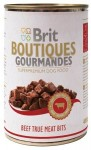 Brit Boutiqoes Gourmandes Beef True Meat Bits 400g