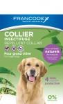 FRANCODEX Obroża przeciw insektom dla psów
