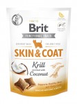 Brit Care FUNCTIONAL SNACK SKIN&COAT z krylem dla psa 150g
