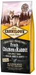 Carnilove Sucha karma Fresh Chicken & Rabbit for Adult dla psa - różna waga