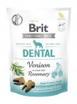 Brit Care FUNCTIONAL SNACK DENTAL z dziczyzną dla psa 150g