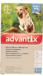 Bayer advantix Spot-on 4 ml (25 - 40 kg)