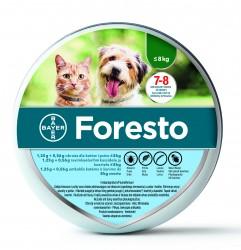 Obroża przeciwkleszczowa Foresto dla małych psów i kotów