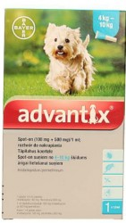 Bayer advantix Spot-on 1 ml (4 - 10 kg)