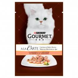 GOURMET A LA CARTE z łososiem i warzywami 85g