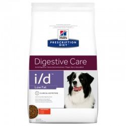 HILL'S I/D Digestive Care LOW FAT Karma Pies 12 KG Układ trawienny