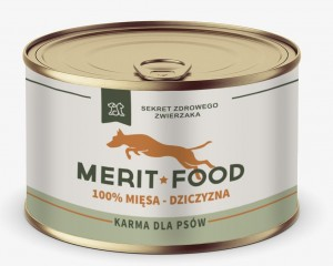 Merit Food DOG - Dziczyzna 100%