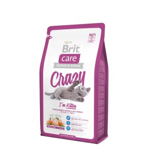 Brit Care Cat Crazy I'm Kitten 0,4/2/7 kg