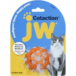 JW Pet Piłka Feather Ball dla kota