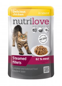 Nutrilove pouch cat CHICKEN in sauce 85g.jpg