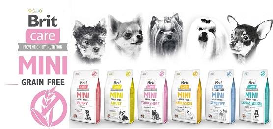 BRIT CARE MINI Grain Free Puppy 400g