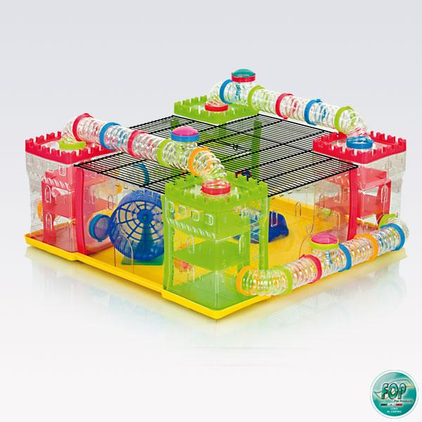 Cudowna FOP Plac zabaw dla chomika Hamsterland 60 x 60 x 25 Sklep RF37