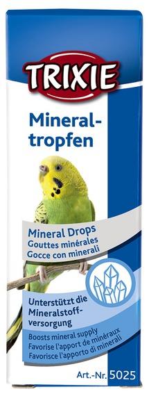 Krople mineralne dla ptaków 15 ml